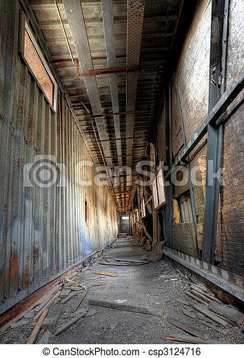 discarded building, flyover - csp3124716
