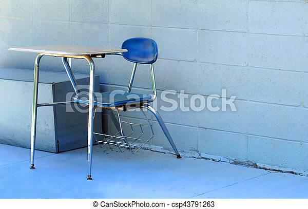 Discarded School Equipment - csp43791263