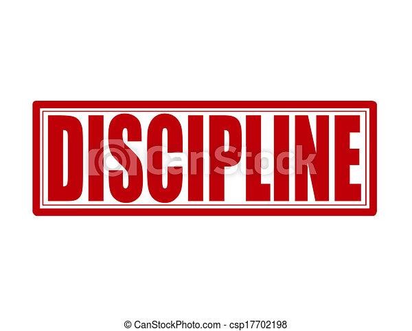 discipline stamp with word discipline inside vector illustration rh canstockphoto com conscious discipline clipart conscious discipline clipart