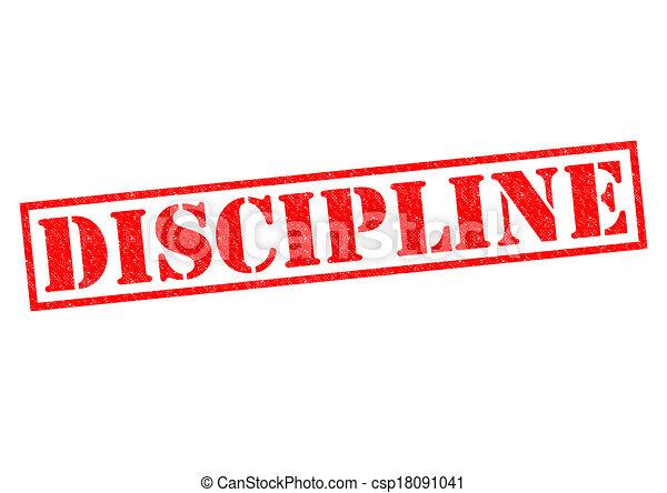 DISCIPLINE - csp18091041