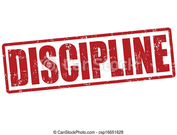 discipline, postzegel - csp16651628