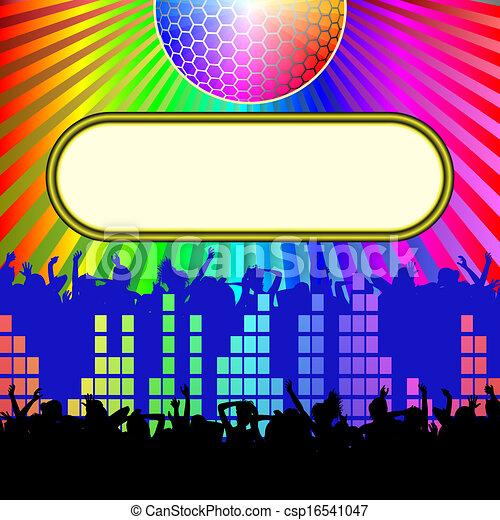 disco background - csp16541047