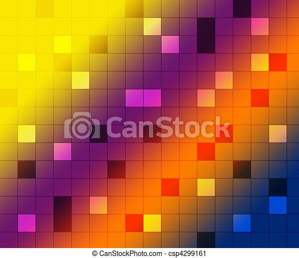 Disco background, shine - csp4299161
