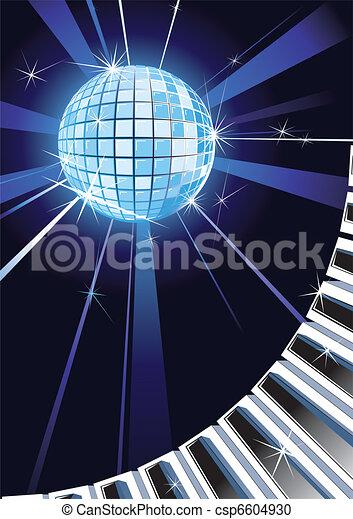 Disco Background - csp6604930