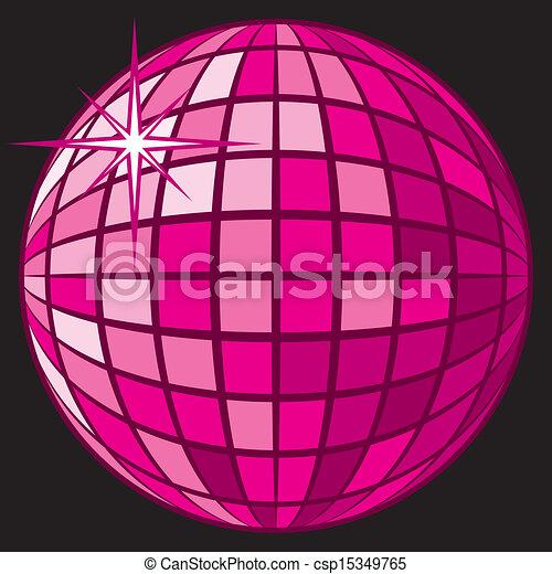 Disco Ball - csp15349765