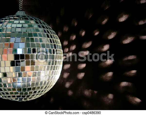 disco ball reflections - csp0486390