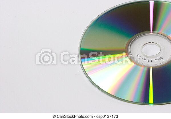Un disco compacto - csp0137173