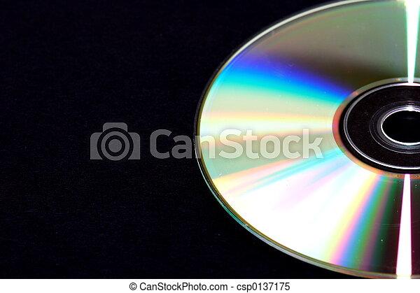 Un disco compacto - csp0137175