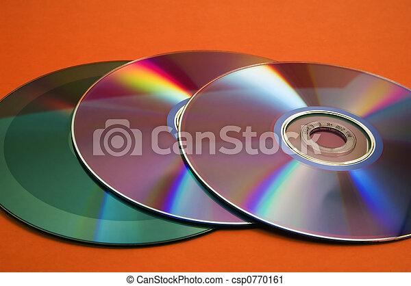 Un disco compacto - csp0770161