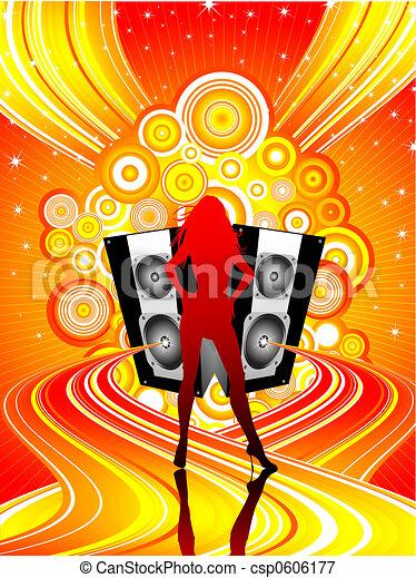 Disco diva - csp0606177