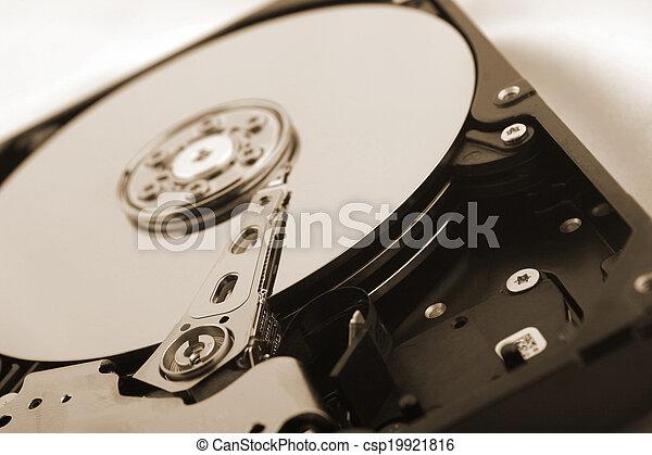 Disco duro - csp19921816