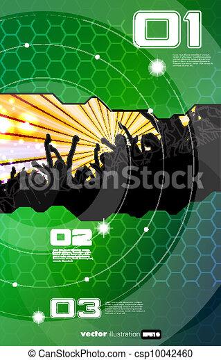 Disco event background - csp10042460