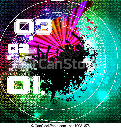 Disco event background - csp10031876