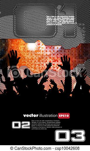 Disco event background - csp10042608