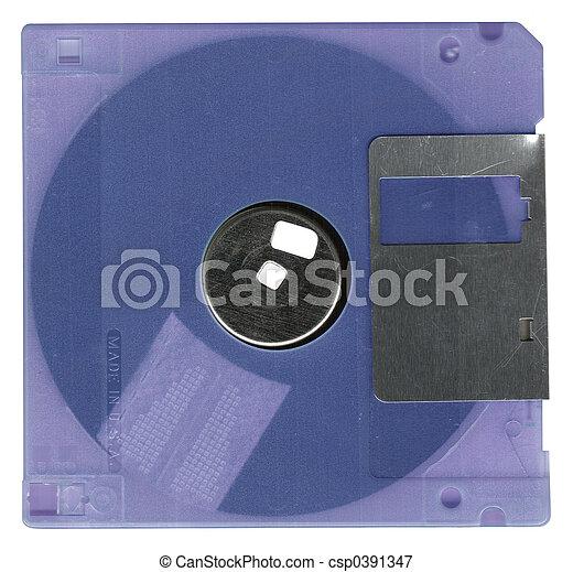 Un disquete - csp0391347