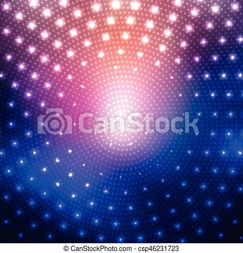 Disco lights background - csp46231723