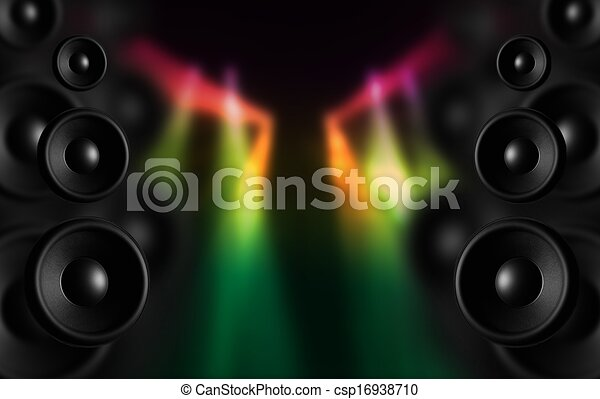 dj speakers clipart. disco speakers - csp16938710 dj clipart