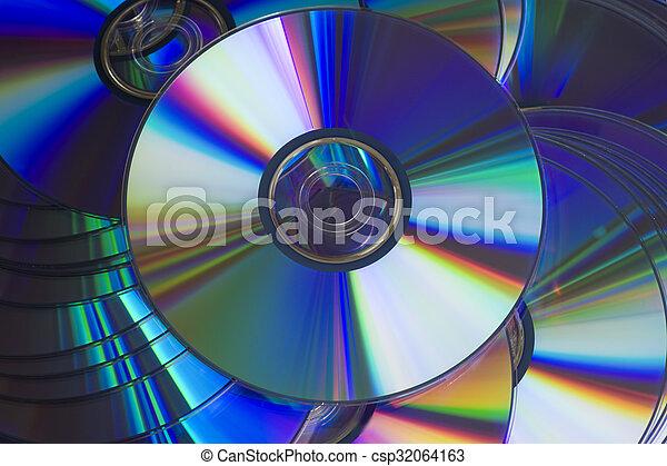 Discos compactos - csp32064163