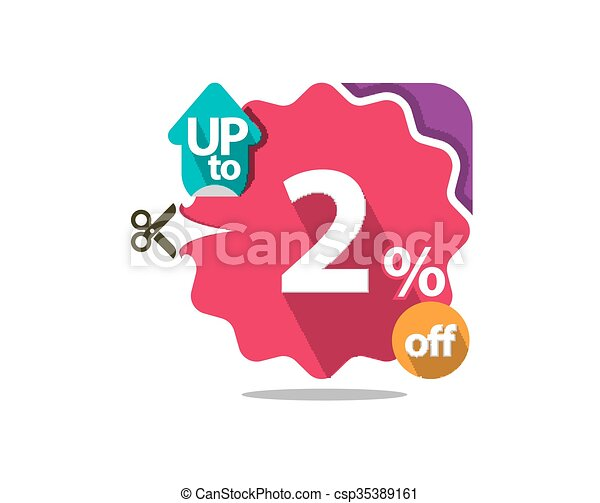 Discount badge  - csp35389161