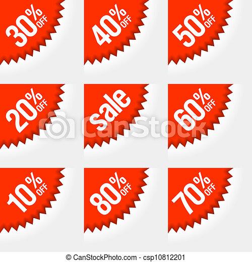 Discount labels - csp10812201