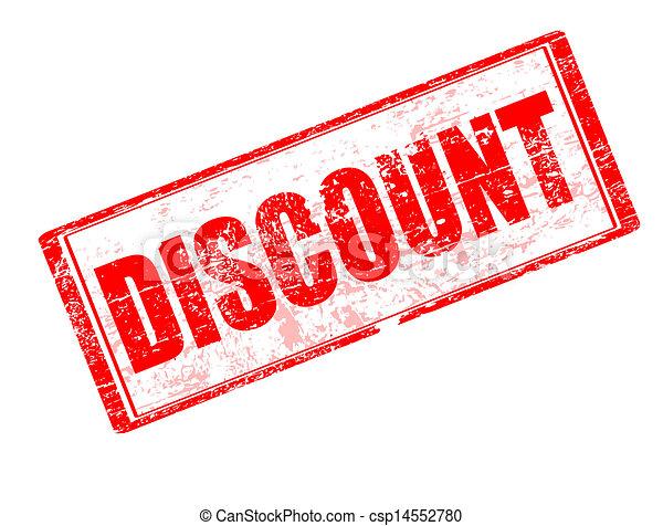 Discount stamp - csp14552780