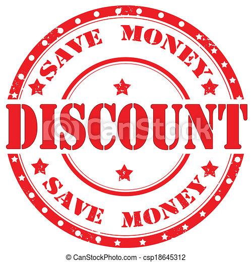Discount-stamp - csp18645312