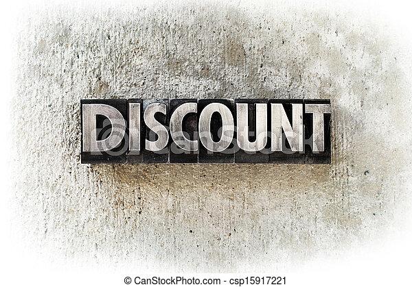 Discount - csp15917221