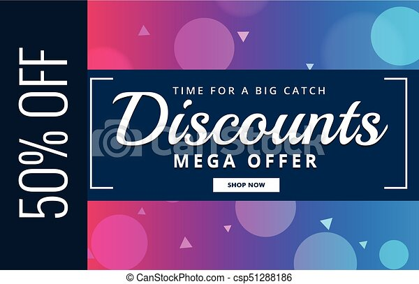 Discount voucher design with offer details vector Search Clip Art