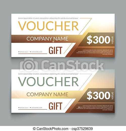 Discount voucher market design template with colorful lines gift discount voucher market design template with colorful lines gift voucher certificate coupon template layout award gift certificate special business card flashek Images