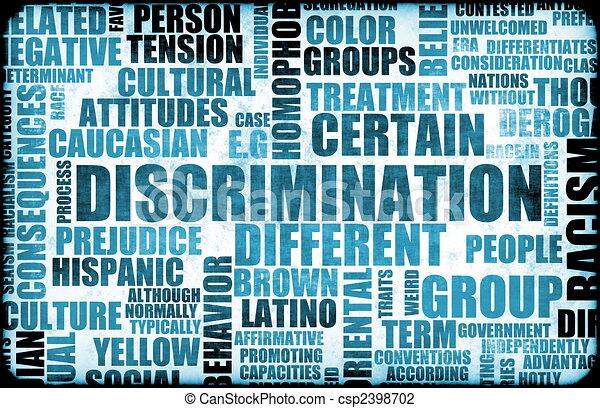 Discrimination - csp2398702