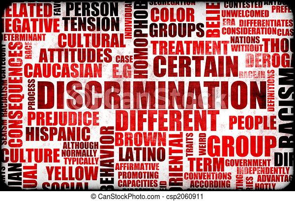 Discrimination - csp2060911