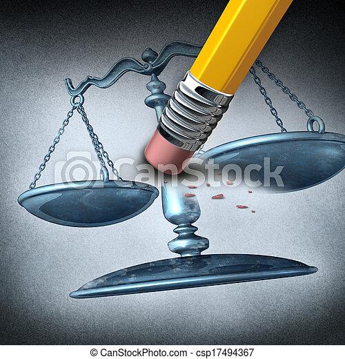 discrimination, injustice - csp17494367