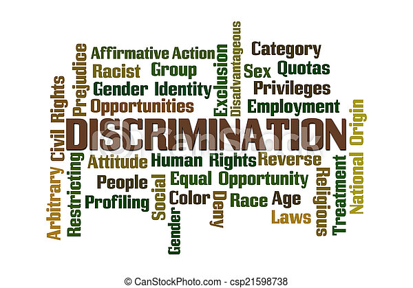 discrimination - csp21598738