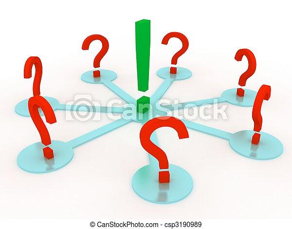 discussione, concetto - csp3190989