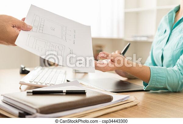 Diseñador web - csp34443300