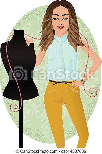 Diseñador de moda - csp14587686
