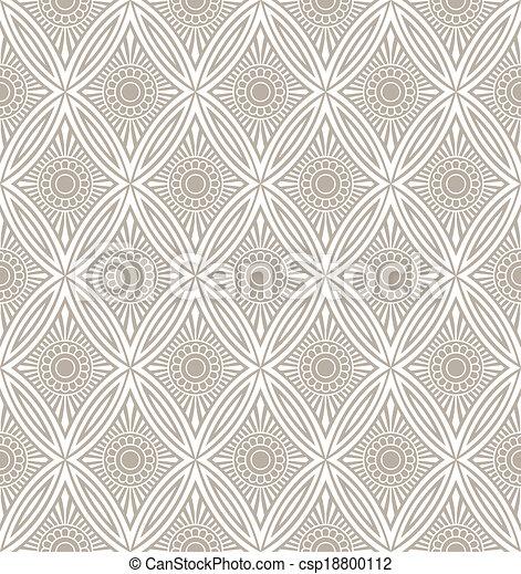 Diseñador de papel pintado sin costura - csp18800112