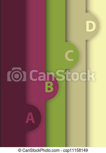 Diseños abstractos - csp11158149