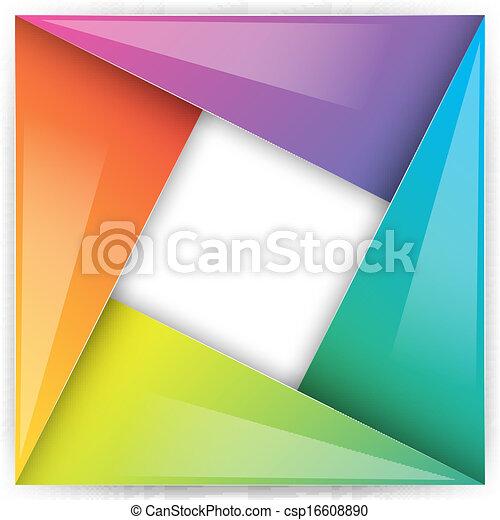 Un símbolo de diseño abstracto - csp16608890