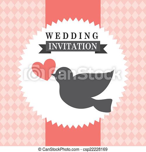 Diseño de bodas - csp22228169