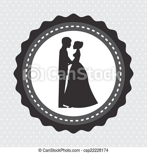 Diseño de bodas - csp22228174