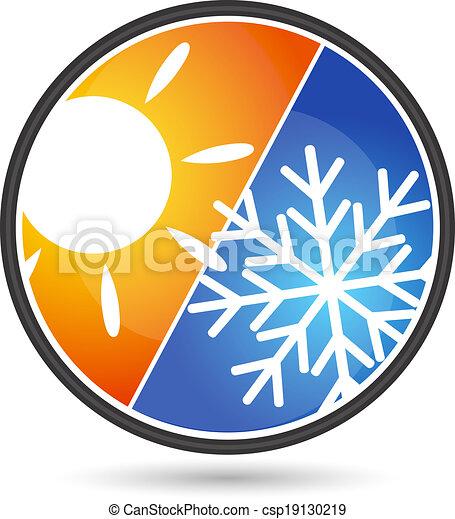 diseño, condicionamiento, aire - csp19130219