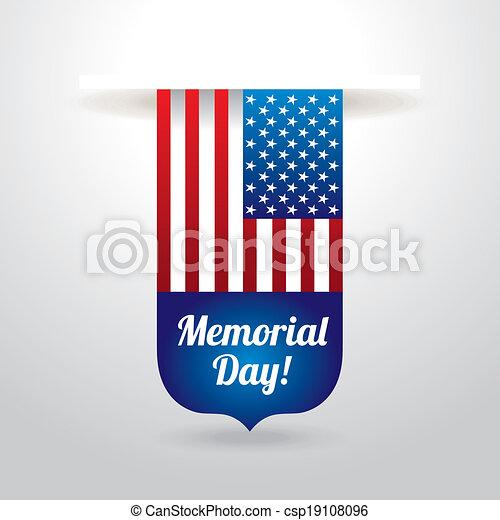 Diseño de un día conmemorativo - csp19108096