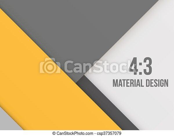 diseño, excepcional, material, moderno, plano de fondo - csp37357079