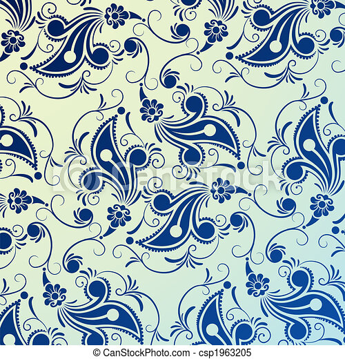 diseño floral - csp1963205