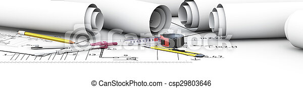 Diseño de ingeniería arquitecto. - csp29803646