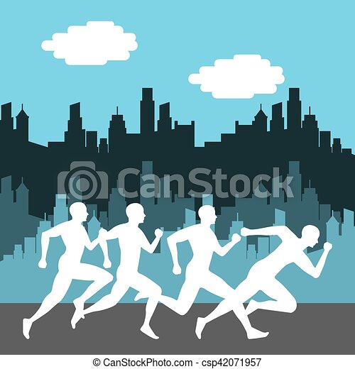 Diseño de competición de Maratón - csp42071957