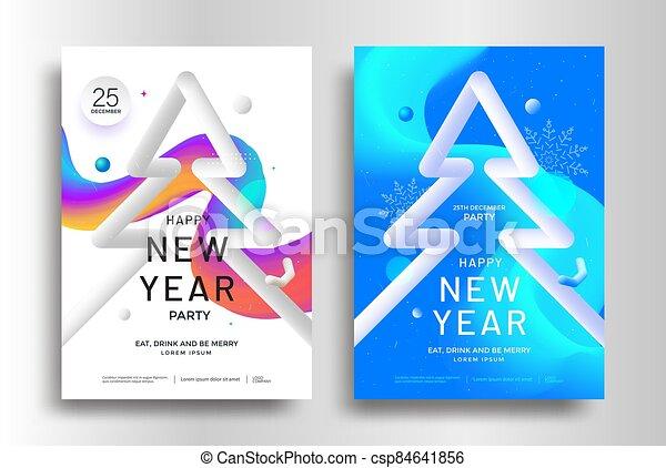 diseño, navidad, aviador, tarjeta, saludo, alegre, o - csp84641856