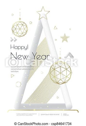 diseño, navidad, aviador, tarjeta, saludo, alegre, o - csp84641734