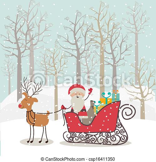 Diseño de Navidad - csp16411350